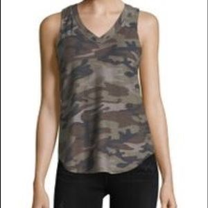 PPLA clothing XS camouflage tank top